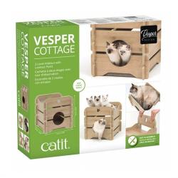 Catit Vesper Cottage Roble para gatos