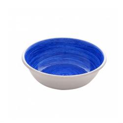 Dogit Comedero Acero Inox Anti Deslizante Blue Swirl para perros
