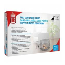 Dogit Jaula 2 puertas para perros y gatos para perros