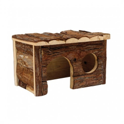 Living World cabaña de madera mediana
