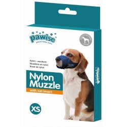 Bozal Nylon Ajustable Pawise para perros