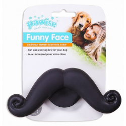Funny Face Bigotes Juguete para perros Pawise para perros