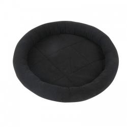 Pawise Cama Redonda Negra para gatos