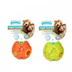Pelota Giggle Dispensadora de premios Pawise para perros
