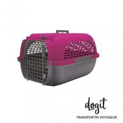 Dogit Pet Voyageur Transportin Fucsia para perros