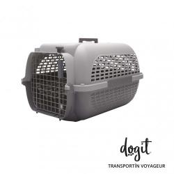 Dogit Pet Voyageur Transportin Gris para perros