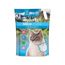 Arena para gatos Silicacrystal 76 Lts