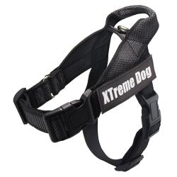 Arnés para perros Xtreme CLASSIC Dog Negro