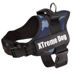 Arnés para perros Xtreme Dog Camo Azul