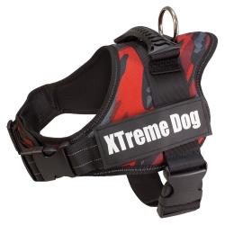 Arnés para perros Xtreme Dog Camo Rojo