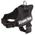 Arnés para perros Xtreme Dog Negro