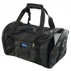 Bolso de viaje plegable para perros y gatos Negro