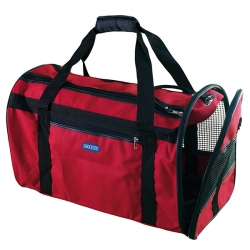 Bolso de viaje plegable para perros y gatos Rojo