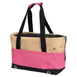 Bolso transportin rosa para perros