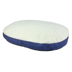Colchoneta Borrego Azul para perros