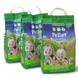 Lecho para roedores pellets 10 Litros