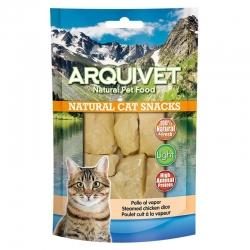 Golosinas para gatos Snack gato - Pollo al vapor 50g