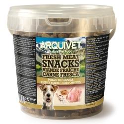Golosinas para perros Snacks Carne fresca Pollo de granja