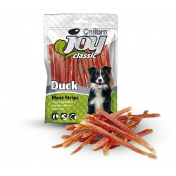 Calibra joy dog classic strips pato snack para perros