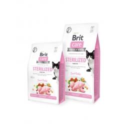 Brit care cat sterilized sensitive pienso para gatos
